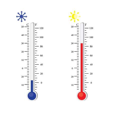 Temperatuur vijverwater meten