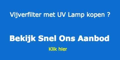 Vijverfilter met uv lamp bestellen